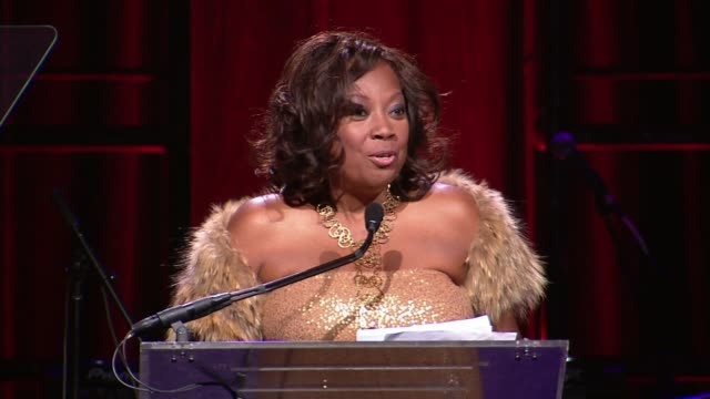 Star Jones at 2014 Angel Ball benefitting Gabrielle's Angel Foundation for Cancer Research at Cipriani Wall Street on October 20 2014 in New York City
