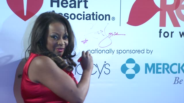 Star Jones at AHA's Go Red For Women National Wear Red Day at Macy's at Macy's Herald Square on 02/03/12 in New York