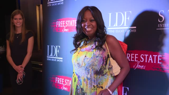 Star Jones at Free State Of Jones New York Premiere at Paris Theater on June 22 2016 in New York City