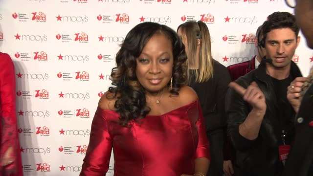 Star Jones at Go Red Women Red Dress Collection Runway Fall 2015 MercedesBenz Fashion Week at The Theater at Lincoln Center on February 12 2015 in...