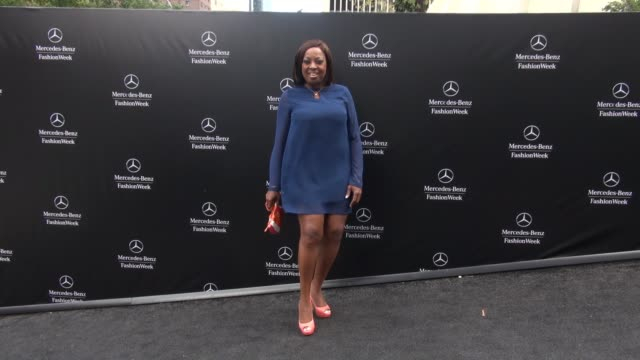 star jones at lincoln center outside mercedes-benz fashion week spring 2015 on september 08, 2014 in new york city. - star jones stock videos & royalty-free footage