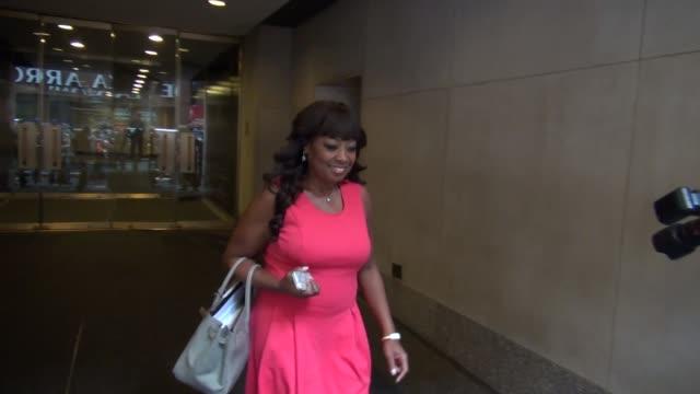 star jones at nbc studios in new york, ny, on 5/9/13. - star jones stock videos & royalty-free footage