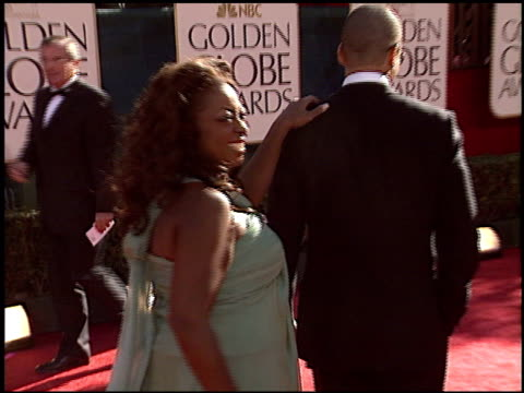star jones at the 2005 golden globe awards at the beverly hilton in beverly hills, california on january 16, 2005. - star jones stock videos & royalty-free footage