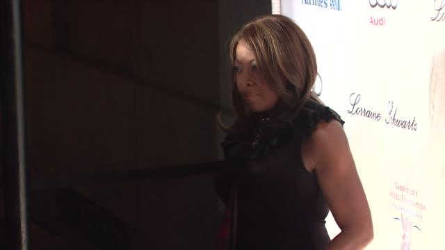 star jones at the 2009 angel ball at new york ny. - star jones stock videos & royalty-free footage