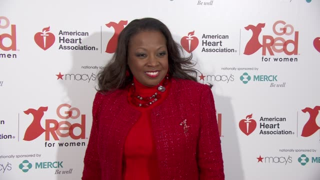 Star Jones at the American Heart Association Go Red For Women 10th Year Celebration on in New York NY