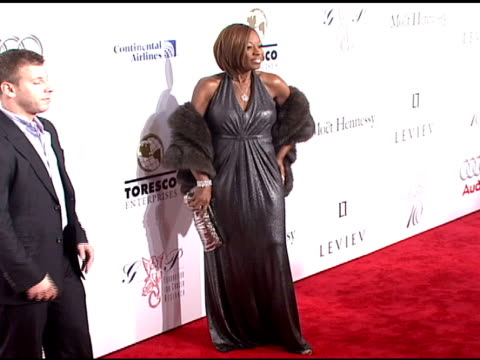 star jones at the denise rich marks 10th year of the gp foundation with an evening of stars and music at the 2007 angel ball at marriott marquis... - marriott marquis new york stock videos & royalty-free footage