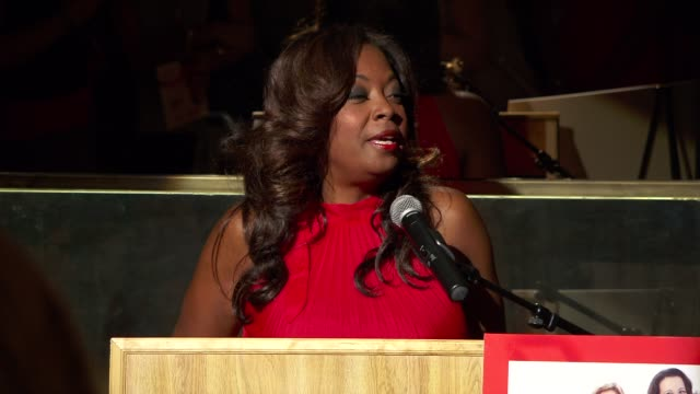 star jones at the elizabeth banks and go red for women premiere party for 'just a little heart attack' short film - star jones stock videos & royalty-free footage
