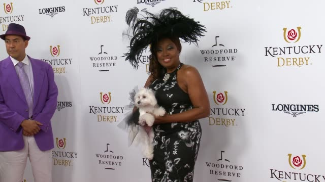 star jones at the kentucky derby call sheet 145 at churchill downs on may 04, 2019 in louisville, kentucky. - star jones stock videos & royalty-free footage