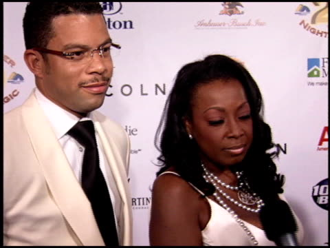 Star Jones at the Midsummer Night's Magic Gala at the Century Plaza Hotel in Century City California on July 13 2005