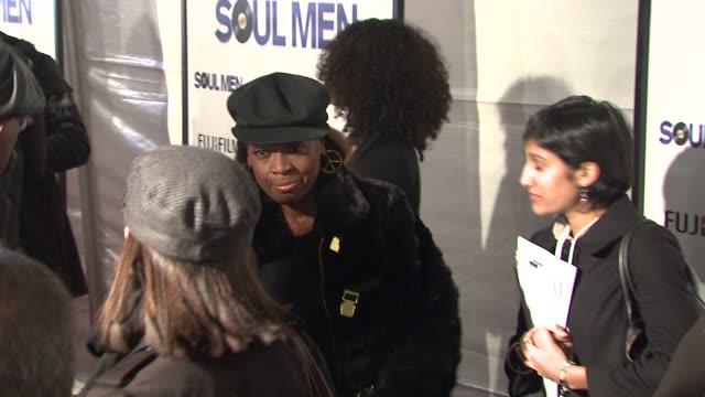 star jones at the 'soul men' premiere at new york ny. - star jones stock videos & royalty-free footage