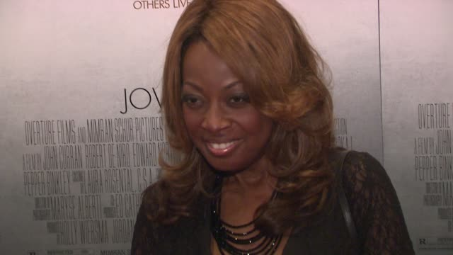Star Jones at the 'Stone' New York Premiere Arrivals at New York NY