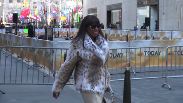 Star Jones at the 'TODAY' show studio in New York NY on 3/4/13