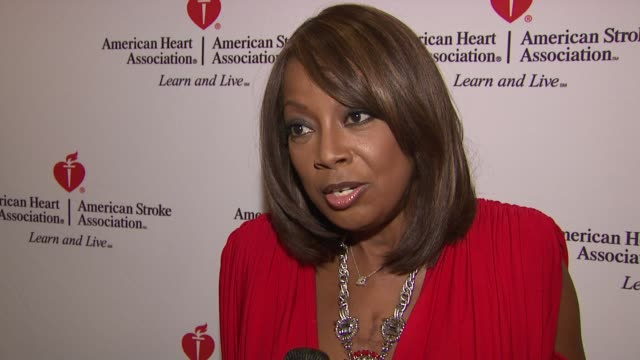star jones attends 'celebrity apprentice' premiere for american heart association', new york, ny, united states, . - star jones stock videos & royalty-free footage
