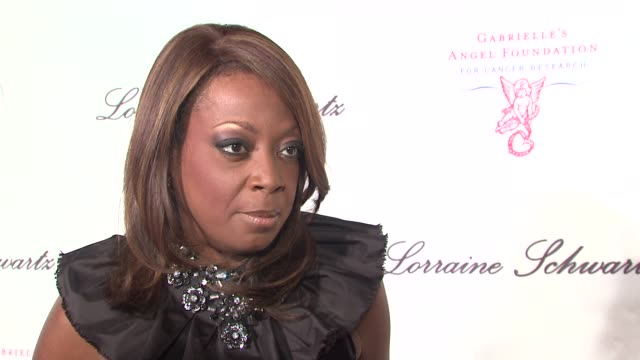 Star Jones on being on the board of the Foundation since its inception On what Gabrielle's Foundation does the money they raise On giving back at the...