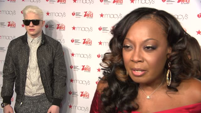 INTERVIEW Star Jones on her outfits for the month and how she can help spread the word at Go Red Women Red Dress Collection Runway Fall 2015...
