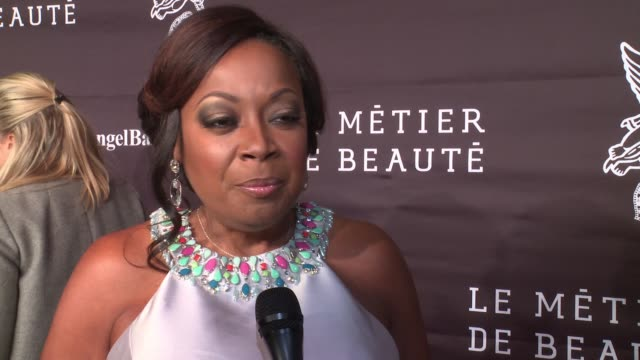 INTERVIEW Star Jones on the progress made and how the charity works at 2016 Angel Ball at Cipriani Wall Street on November 21 2016 in New York City