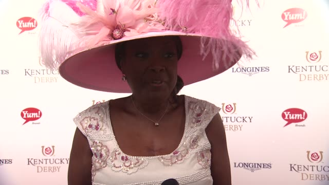 star jones on what to wear and what to do at the derby at 141st kentucky derby at churchill downs on may 02, 2015 in louisville, kentucky. - star jones stock videos & royalty-free footage