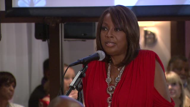 star jones says heart disease is the number one killer of african americans and the number one killer of women, says that is why she chose the aha as... - star jones stock videos & royalty-free footage
