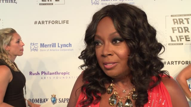 INTERVIEW Star Jones talks about being honored this evening and how she's been a long time supporter of Russell Simmons and their foundation...