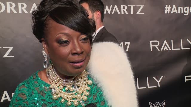 interview star jones talks about being on the board and finding a cure in junior researchers at angel ball 2017 at cipriani wall street on october 23... - cipriani manhattan stock videos & royalty-free footage