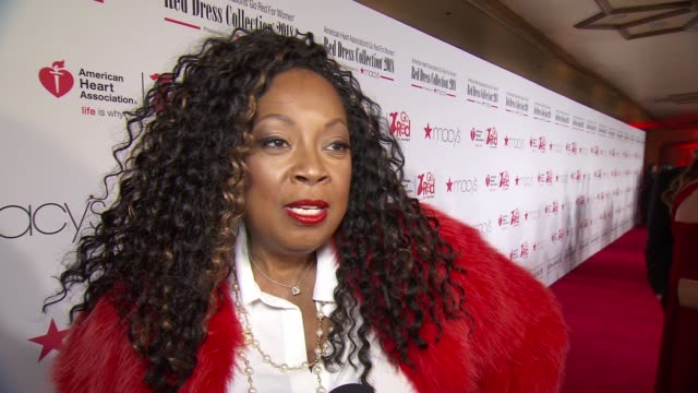 star jones talks about her battle with heart disease at the american heart association's go red for women red dress collection 2018 presented by... - star jones stock videos & royalty-free footage