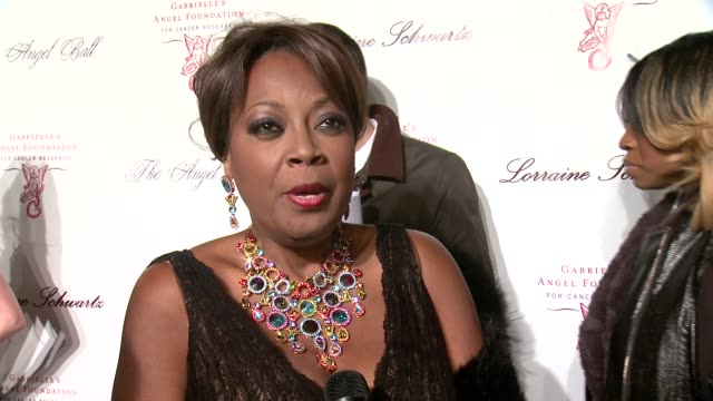 star jones talks about how long she has known denise rich, on being a board member, and her passion for the cause at gabrielle's angel foundation... - star jones stock videos & royalty-free footage