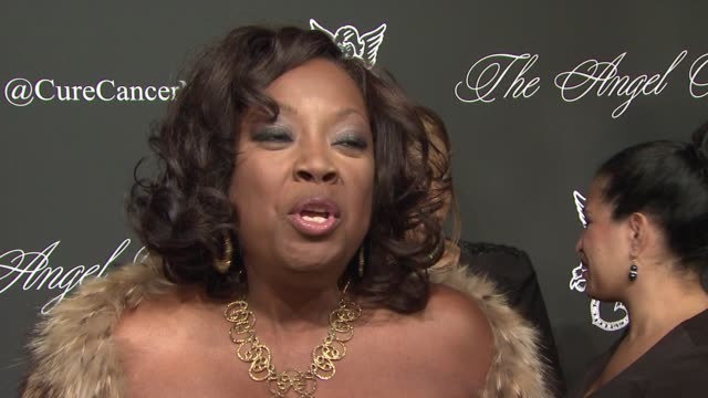INTERVIEW Star Jones talks about raising money for cancer research at 2014 Angel Ball benefitting Gabrielle's Angel Foundation for Cancer Research at...
