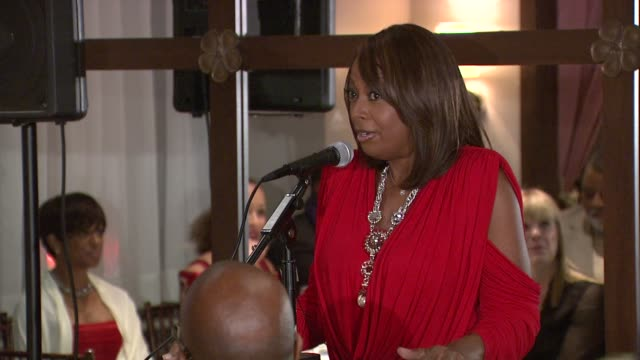 star jones talks about the premiere of celebrity apprentice and why she's invited them all here tonight. at the star jones attends 'celebrity... - star jones stock videos & royalty-free footage