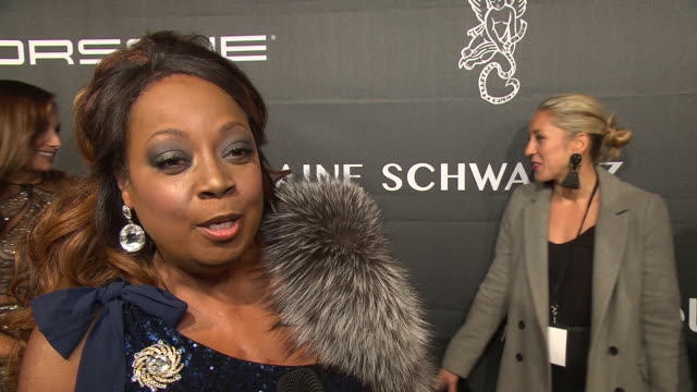 star jones talks about why she supports gabrielle's angel foundation and why it's such an important cause at the 2018 angel ball, benefitting... - star jones stock-videos und b-roll-filmmaterial