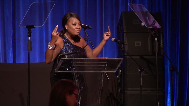 star jones tries to raise some moeny at gabrielle's angel foundation hosts angel ball 2015 at cipriani, wall street on october 19, 2015 in new york... - star jones stock videos & royalty-free footage