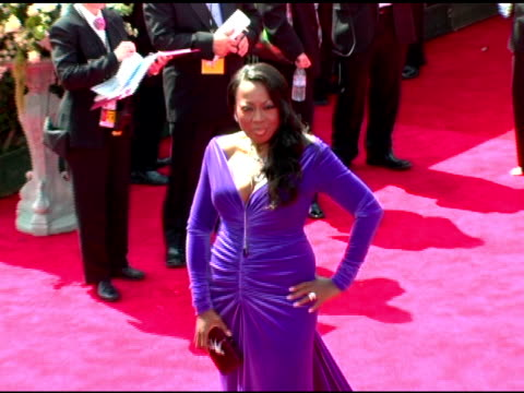 star jones-reynolds at the 2005 emmy awards at the shrine auditorium in los angeles, california on september 18, 2005. - star jones stock videos & royalty-free footage