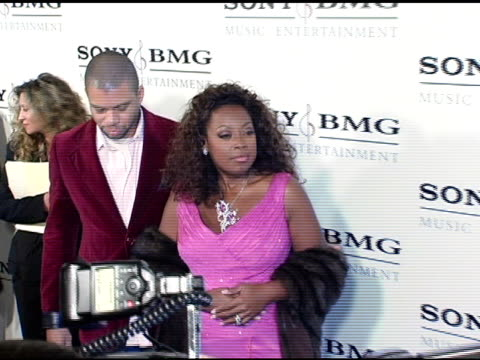 star jones-reynolds at the sony / bmg grammy awards party at the roosevelt hotel in hollywood, california on february 13, 2005. - star jones stock videos & royalty-free footage