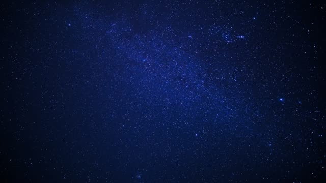 star night time lapse - a forma di stella video stock e b–roll