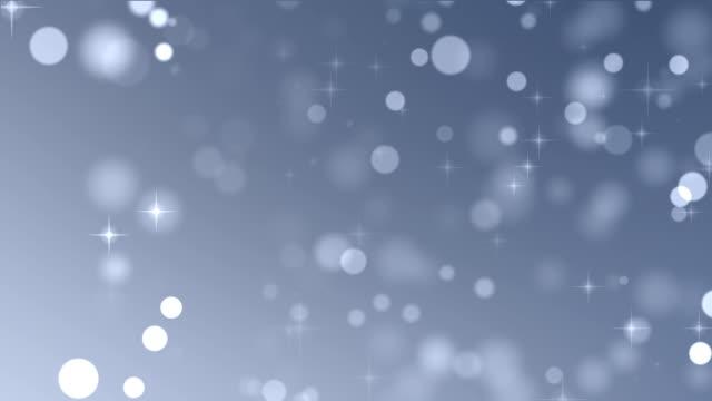 Sterne Partikel-Hintergrund Endlos wiederholbar