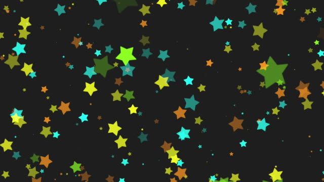 star particles flickering in fullhd. - stars stock videos & royalty-free footage