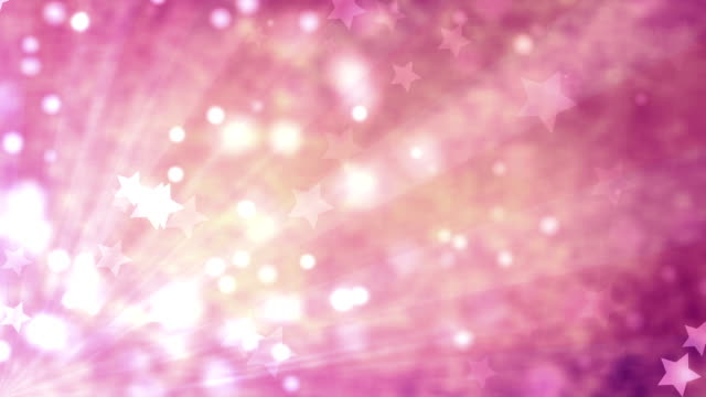 star pink background (loopable) - pink background stock videos and b-roll footage