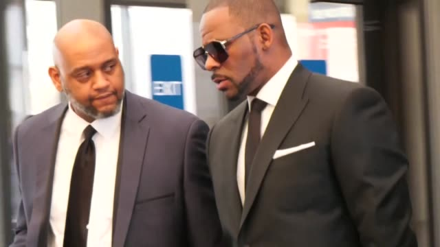 star r kelly arriving at leighton criminal courthouse for a hearing related to allegations of sexual abuse - r. kelly stock videos & royalty-free footage