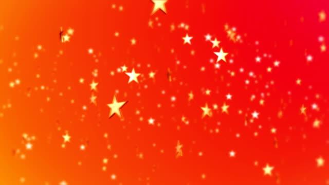 星の形の抽象的な背景