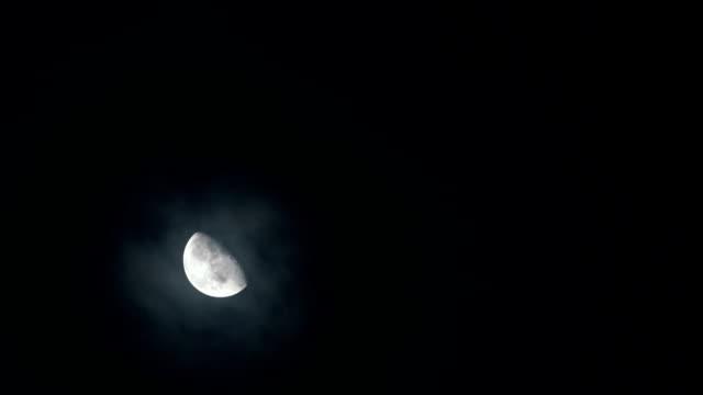 star sky moon halo - solstice stock videos & royalty-free footage