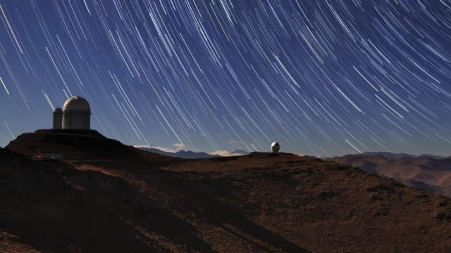 Star Trails and Desert Observatory