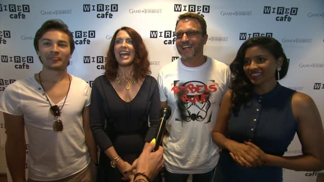 INTERVIEW Star Wars Rebels Cast Steve Blum Taylor Gray Tiya Sircar and Vanessa Marshall on the Star Wars Rebels and their ComicCon Experience with...