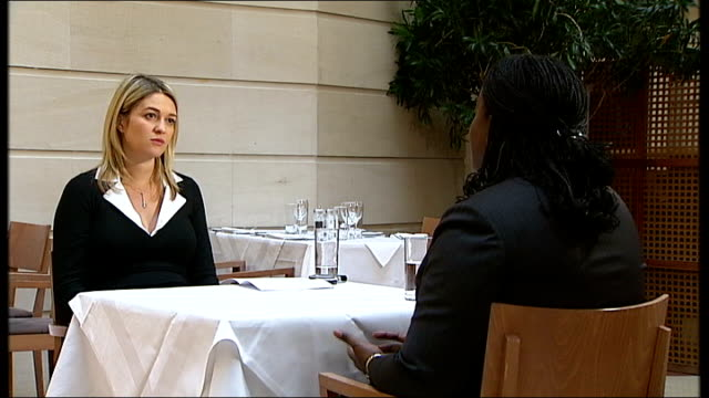 Starbucks backs down in dispute with Ethiopian coffee farmers ENGLAND INT Sandra Taylor talking to reporter Sandra Taylor interview SOT We respect...
