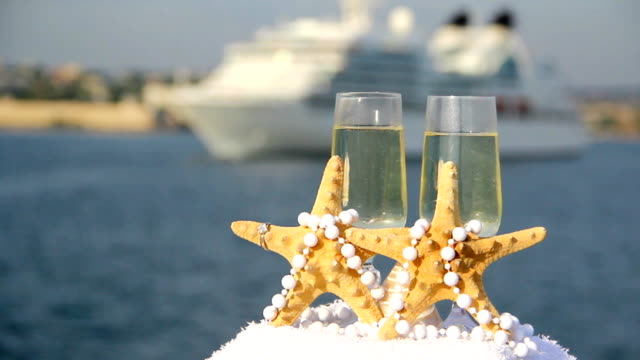 starfish and cruise ship - pearl stock videos and b-roll footage