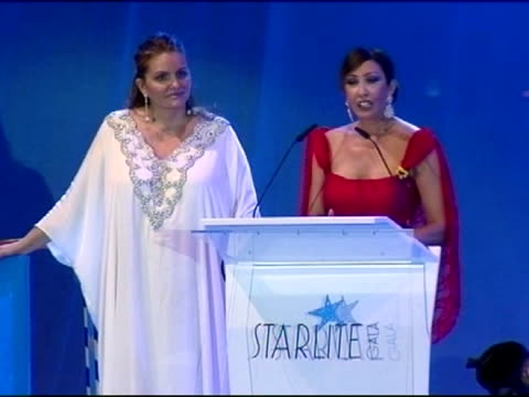 starlite gala 2011 on august 06 2011 in marbella spain - gala stock videos & royalty-free footage