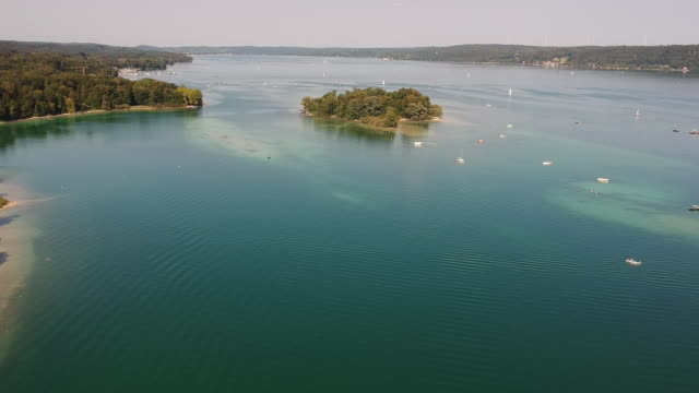 Starnberger See Drohne