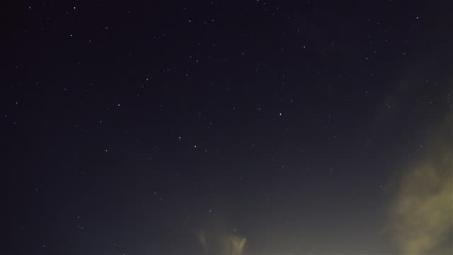 上記の海岸の星明かりの夜 - 星型点の映像素材/bロール