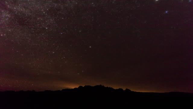 vídeos y material grabado en eventos de stock de starry night - espacio y astronomía