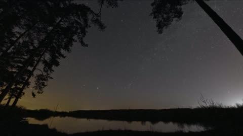 stjärnhimmel, vintergatan och dawn - rymd och astronomi bildbanksvideor och videomaterial från bakom kulisserna