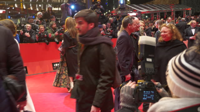 Stars and celebs shine during 'The Party' red carpet at Berlinale 2017