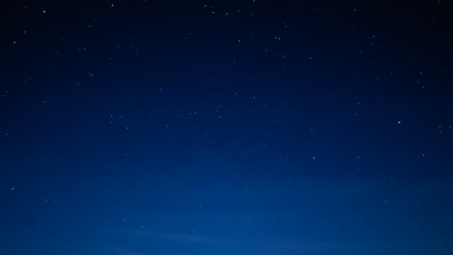 stockvideo's en b-roll-footage met t/l, ws, stars and mist moving through graduated night sky / pantanal, mato grosso, brazil - blauw